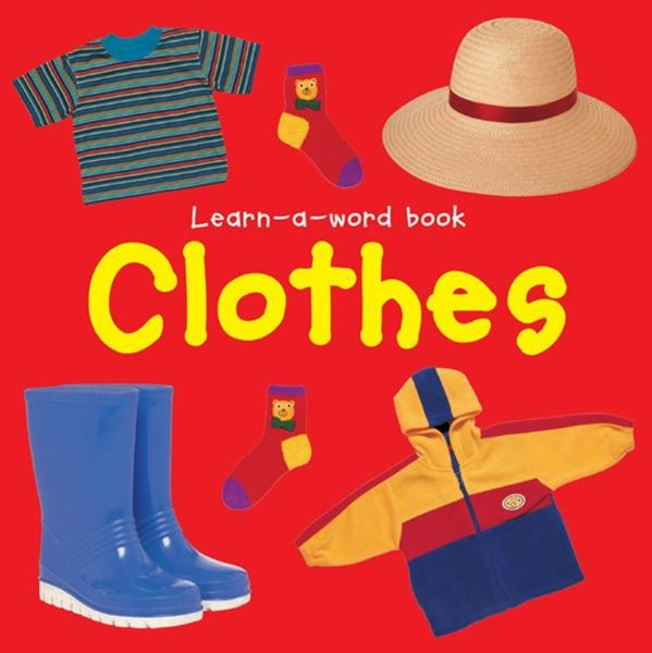 Learn-a-word Book: Clothes