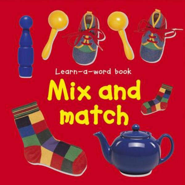 Learn-a-Word Book: Mix and Match