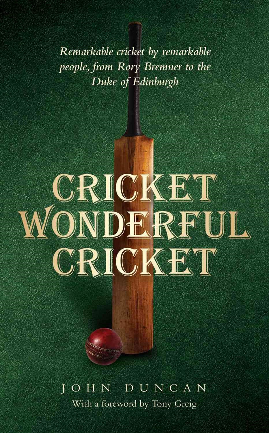 Cricket, Wonderful Cricket