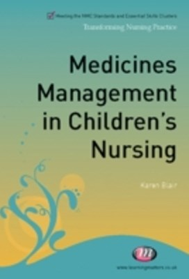 Medicines Management in Children's Nursing
