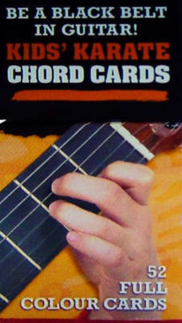Kids Karate Chord Cards