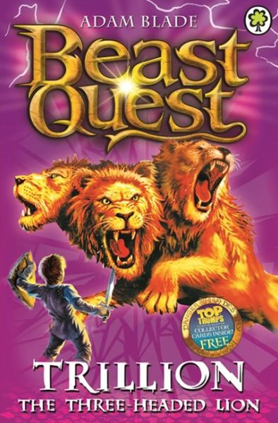 Beast Quest: Series 2 Book 6: Trillion the Three-Headed Lion