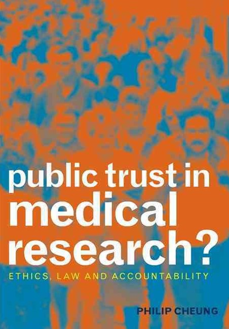 Publis Trust in Medical Research?