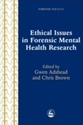 Ethical Issues in Forensic Mental Health Research