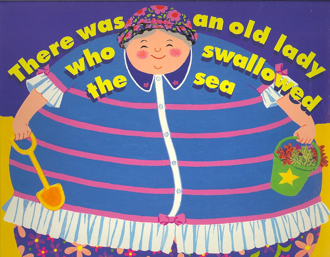 There Was an Old Lady Who Swallowed the Sea