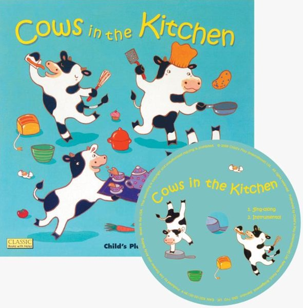 Cows in the Kitchen W/