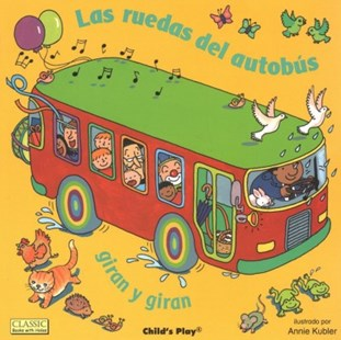 The Wheels on the Bus by Child's Play, Annie Kubler (9781846439650) - PaperBack - Children's Fiction Early Readers (0-4)