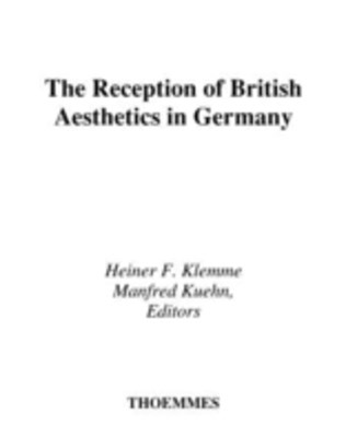 (ebook) Reception Of British Aesthetics In Germany