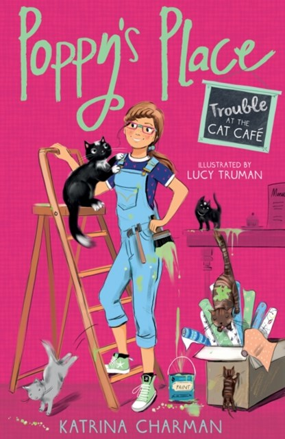 Poppy's Place: Trouble at the Cat Café