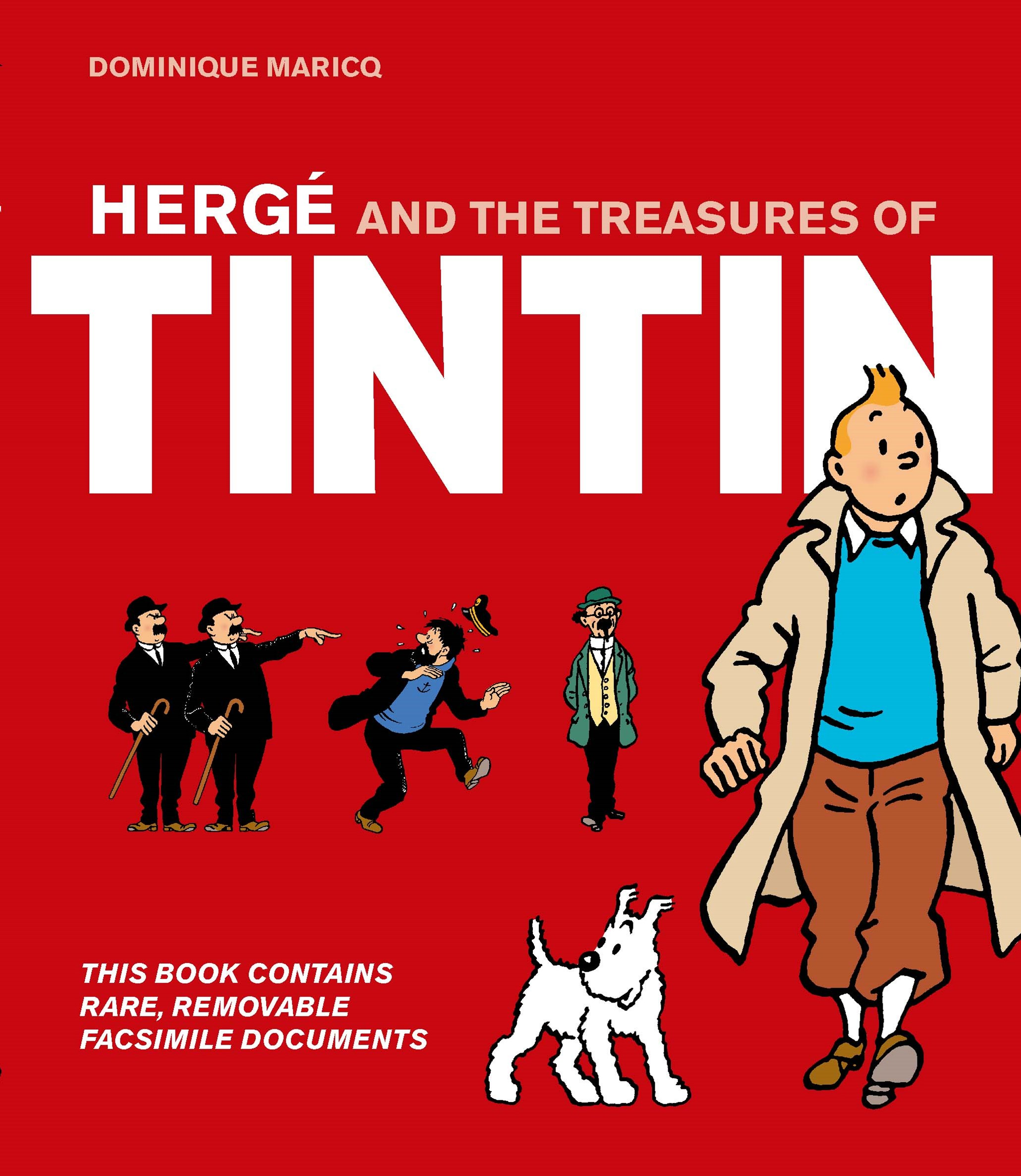 Herg+¬ and the Treasures of Tintin