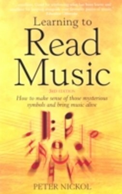 Learning To Read Music 3rd Edition
