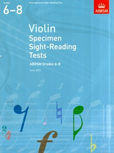 Violin Specimen Sight-Reading Tests, ABRSM Grades 68 Violin Solo - Entertainment Music General
