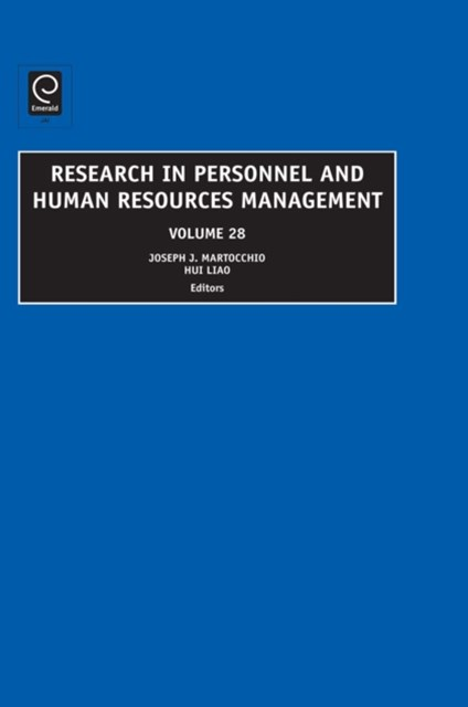 Research in Personnel and Human Resources Management