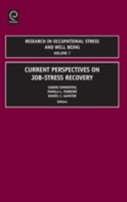 Research in Occupational Stress and Well being