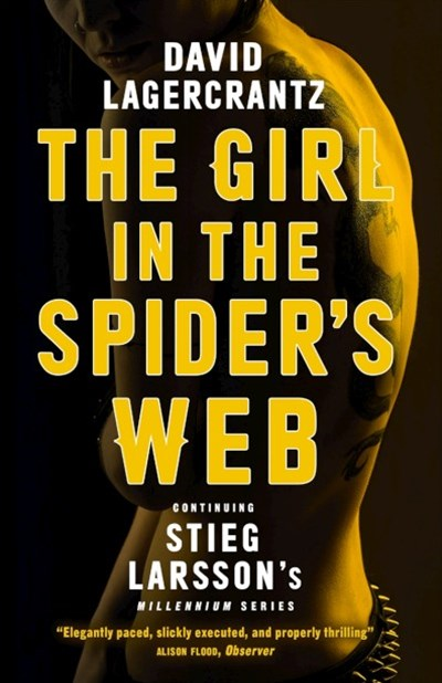 The Girl in the Spider's Web (Millennium, Book 4)