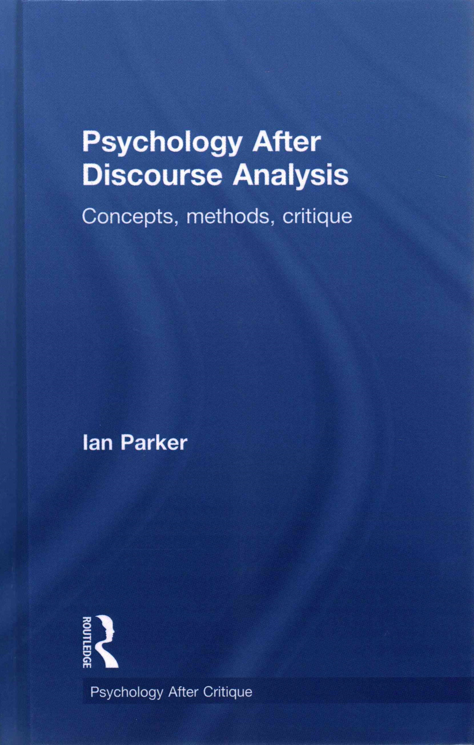 Psychology after Discourse Analysis
