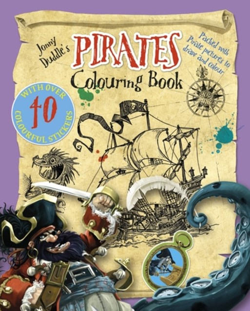 Jonny Duddle's Pirates Colouring Book