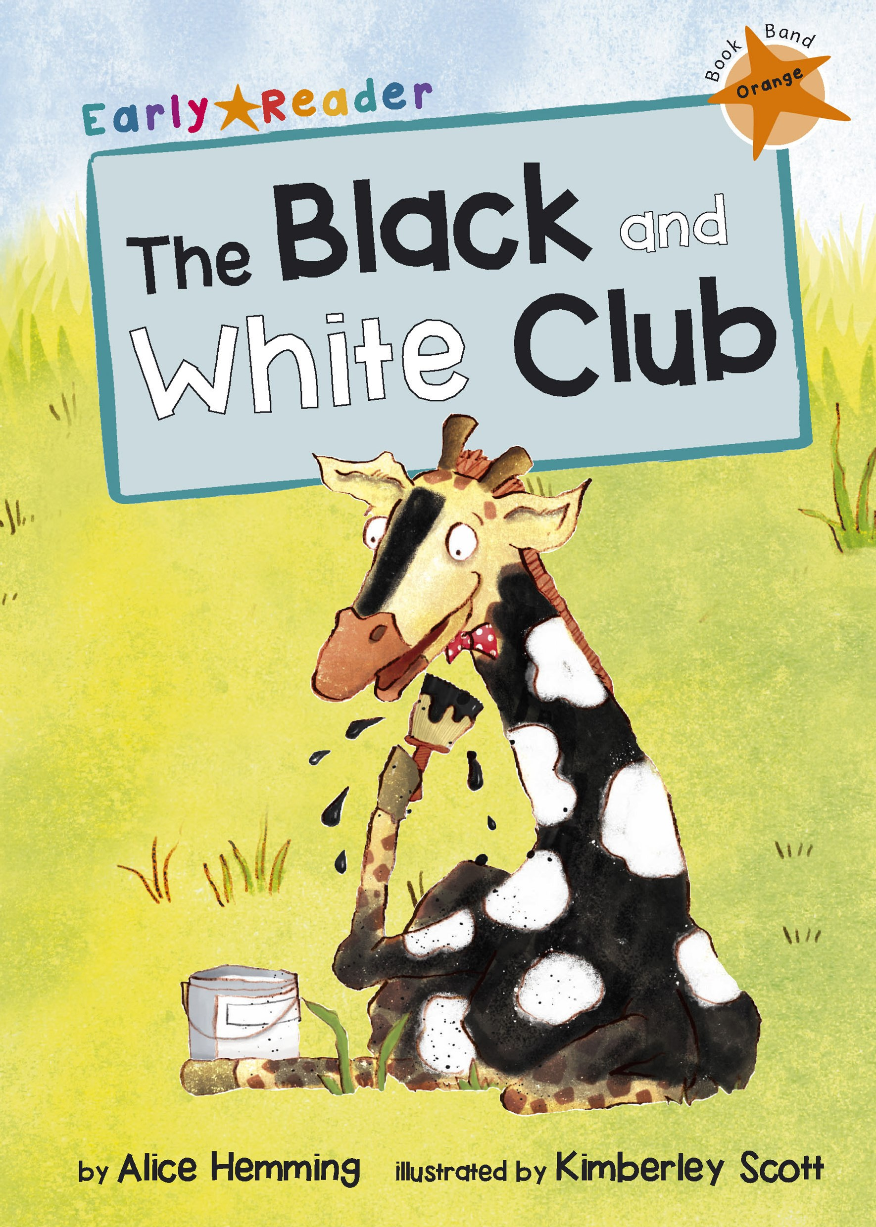 The Black and White Club (Early Reader)