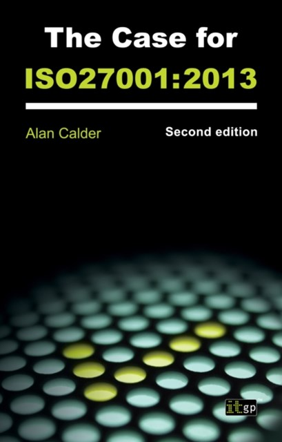 Case for ISO27001:2013