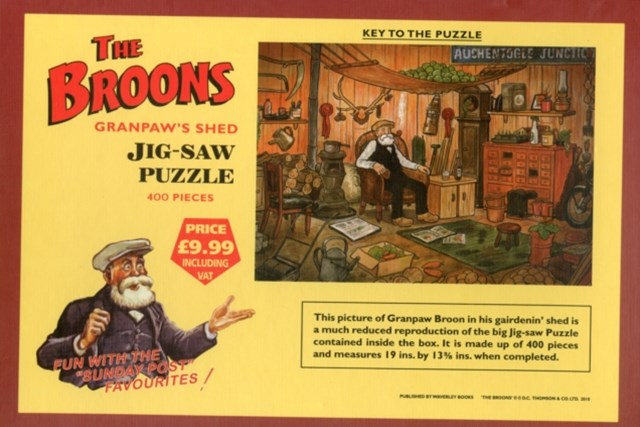 Broons' Jigsaw Puzzle - Granpaw's Shed