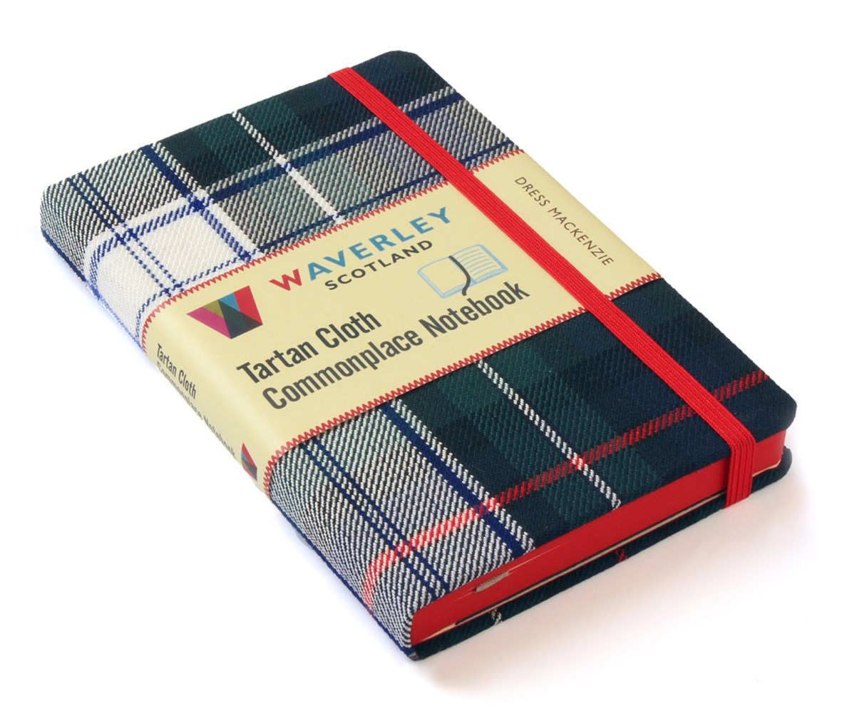 Waverley (M): Dress Mackenzie Tartan Cloth Commonplace Notebook