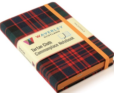 Waverley (M): MacDonald Tartan Cloth Commonplace Notebook by WAVERLEY (9781849344265) - HardCover - Craft & Hobbies Antiques and Collectibles