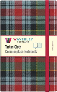 Waverley (L): Caledonia Tartan Cloth Large Notebook by WAVERLEY (9781849344517) - HardCover - Craft & Hobbies Antiques and Collectibles