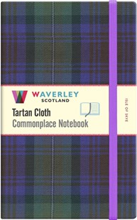 Waverley (L): Isle of Skye Tartan Cloth Large Notebook by WAVERLEY (9781849344524) - HardCover - Craft & Hobbies Antiques and Collectibles