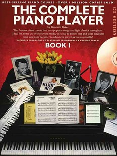 Complete Piano Player Book 1 - CD Edition by Kenneth Baker(Mu (9781849384674) - PaperBack - Entertainment Music Technique
