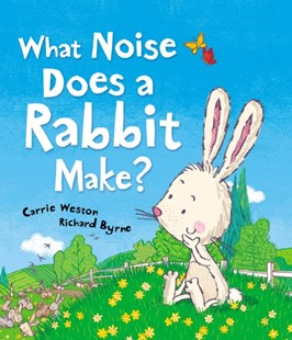 What Noise Does a Rabbit Make? by Carrie Weston, Richard Byrne (9781849395595) - HardCover - Children's Fiction
