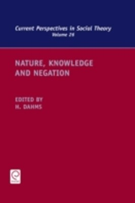Nature, Knowledge and Negation