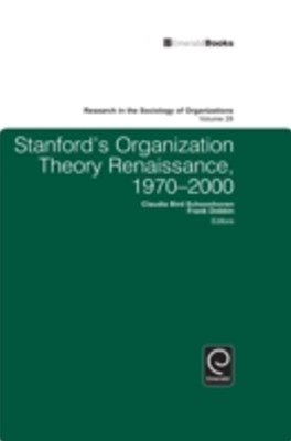 (ebook) Stanford's Organization Theory Renaissance, 1970-2000