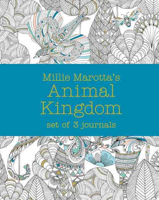 Millie Marotta's Animal Kingdom: Journal Set 3 Notebooks
