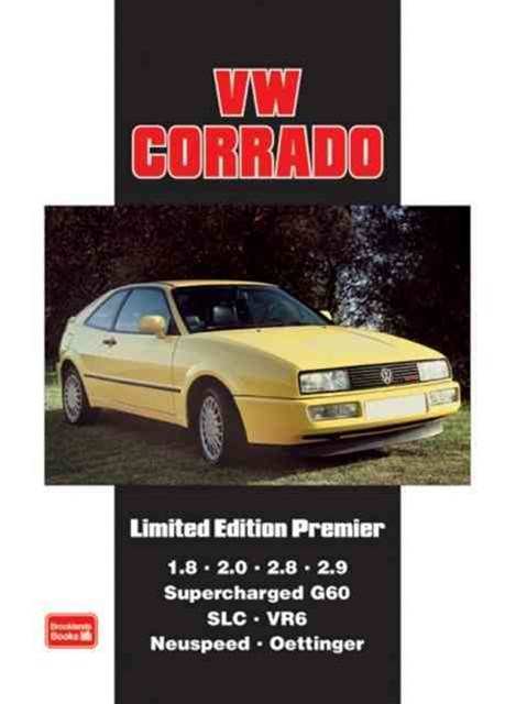VW Corrado Limited Edition Premier