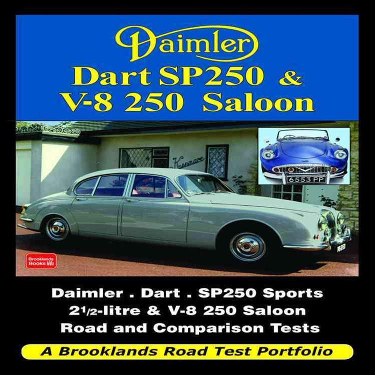 Daimler Dart SP250 and V-8 250 Saloon