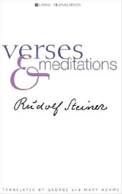 Verses and Meditations 2004