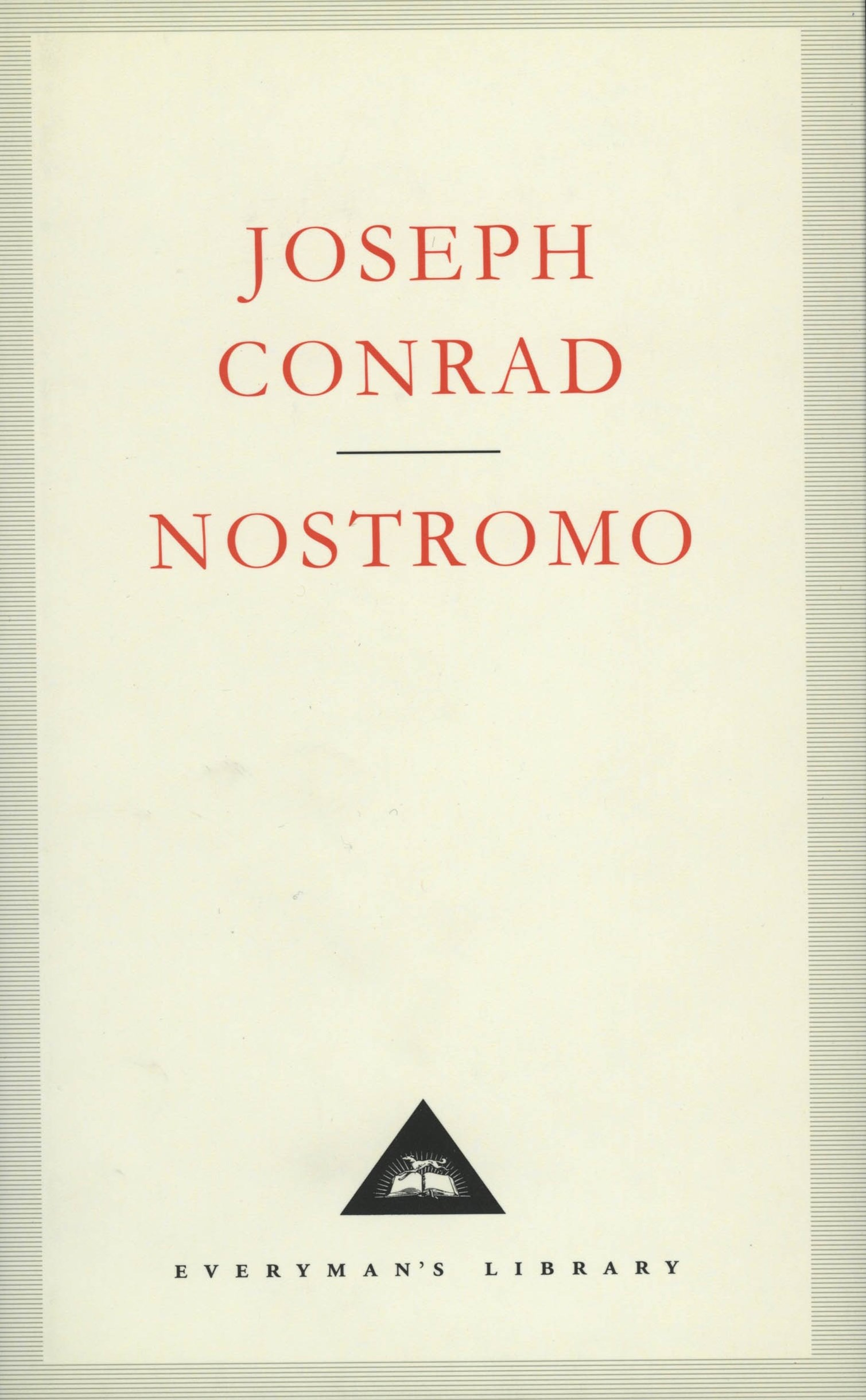 Nostromo:A Tale of the Seaboard