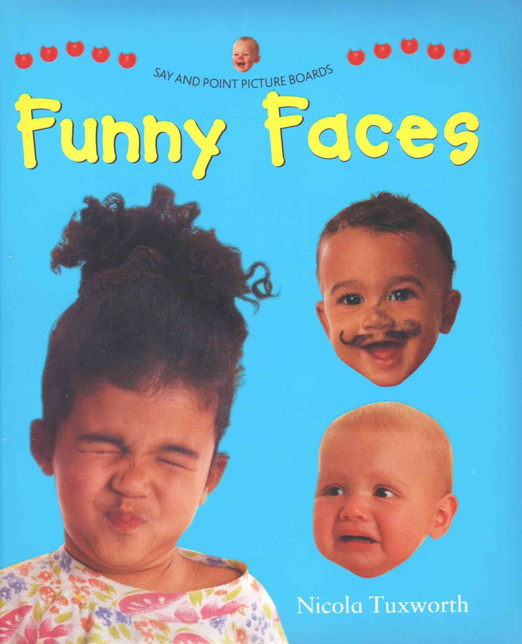 Say and Point Picture Boards: Funny Faces