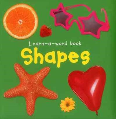 Shapes - Learn-A-Word Book