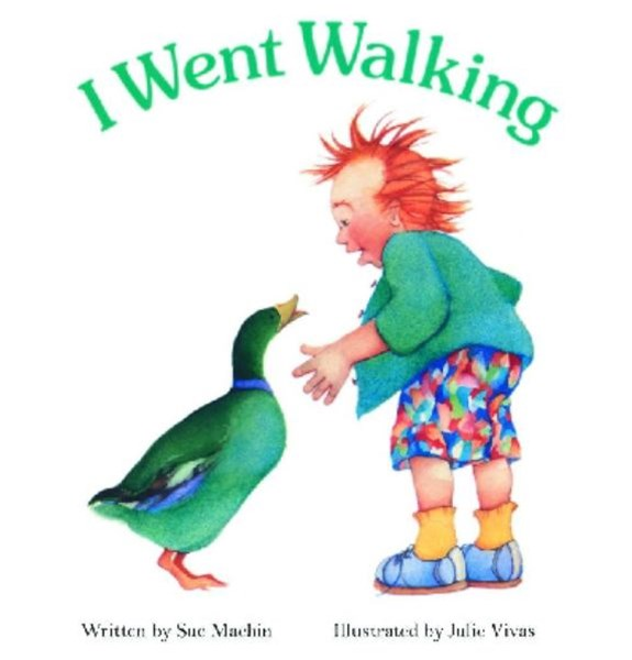 I Went Walking: Board Book
