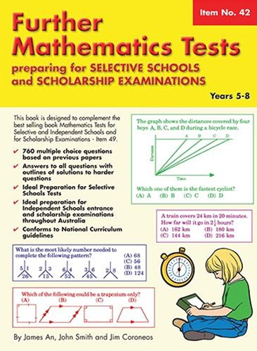 Further Mathematics Tests Preparing for Selective Schools and Scholarship Examinations