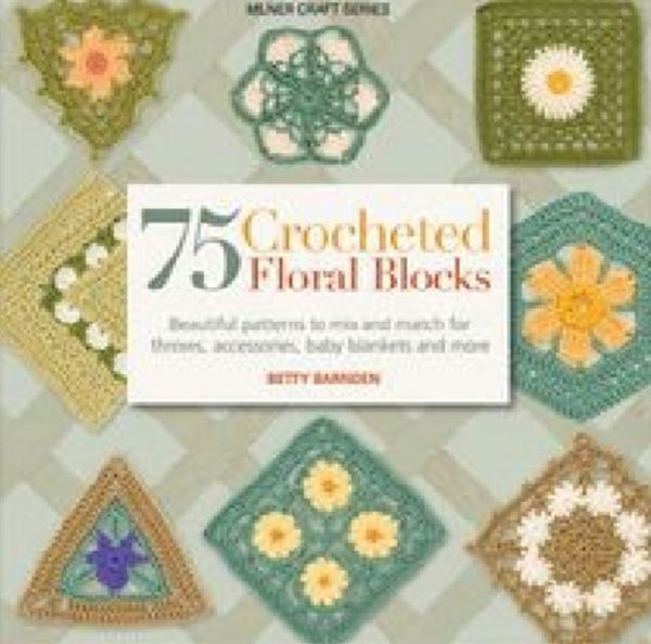 75 Crocheted Floral Blocks
