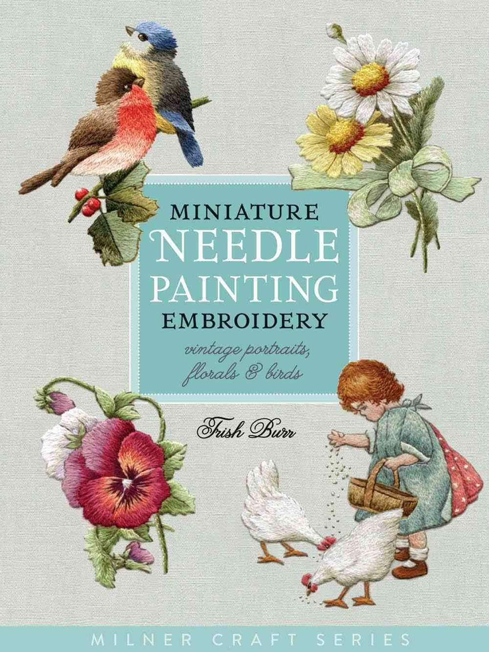 Miniature Needle painting