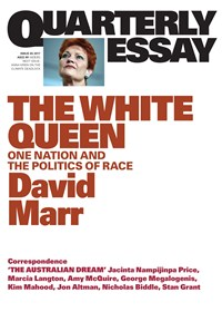 David Marr on Politics and Prejudice: Quarterly Essay 65