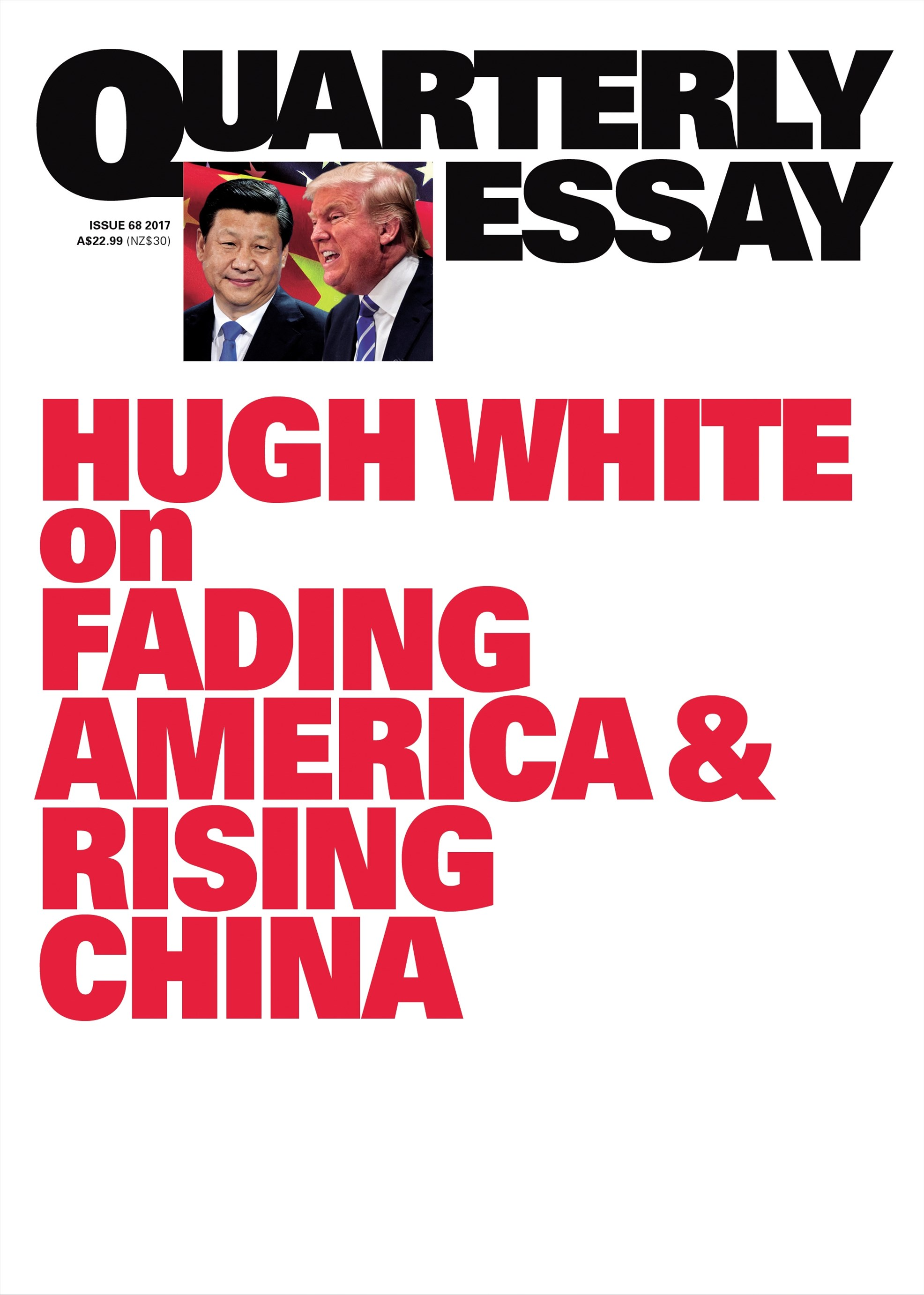 Hugh White on Fading America and Rising China: QE68