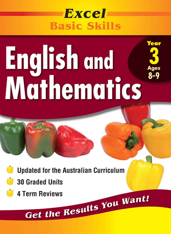 Excel Basic Skills Core Books: English and Mathematics Year 3