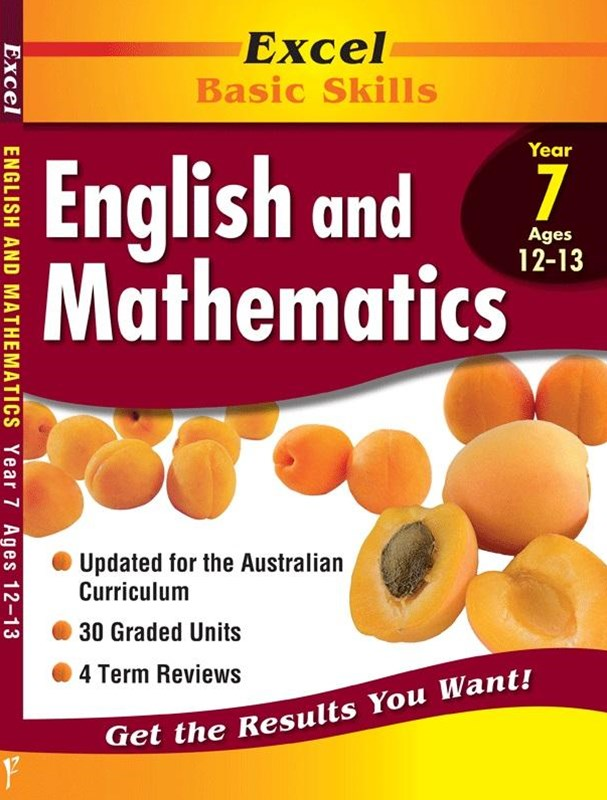 Excel Basic Skills Core Books: English and Mathematics Year 7