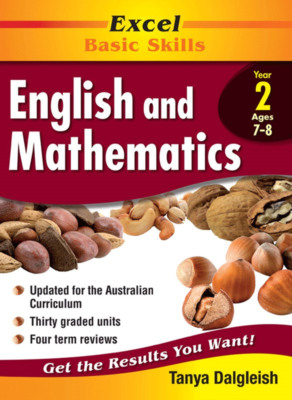 Excel Basic Skills Core Books: English and Mathematics Year 2