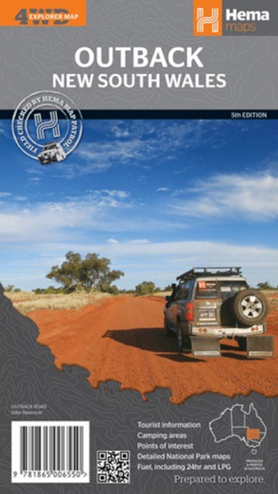 Outback New South Wales Hema Maps