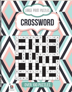 Large Print Puzzles: Crossword (Series 4) by Hinkler Books Hinkler Books (9781865151359) - PaperBack - Craft & Hobbies Puzzles & Games